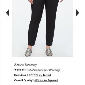 Kady pant black regular size 16